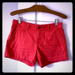 Gap soft coral short shorts